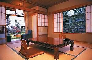 純和風な部屋で和装を。日本美を愉しもう
