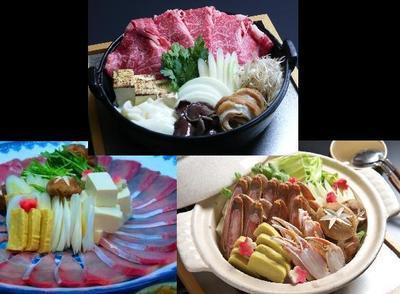 お好きな鍋料理をグループ様ごとでお選びくださいませ