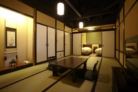 お部屋は広い和洋室!