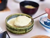 竹野の塩のにがりを使った「特製ふわとろすくい豆腐」