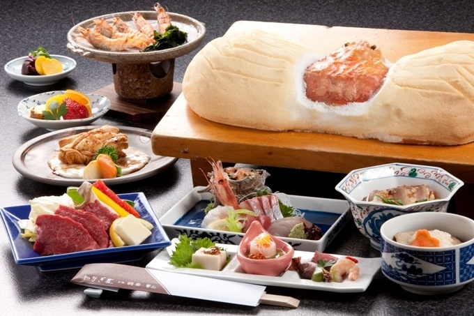 ご夕食のお料理内容(イメージ)