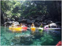 竹野エリアでカヌー体験