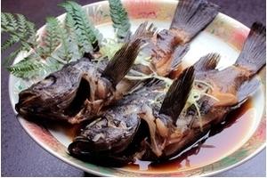 地魚の煮付(例)