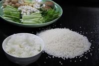 お米や野菜は自家製