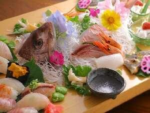 季節の地魚鮨会席!お好みの調味料で!