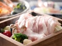 特選豚肉のセイロ蒸しです。