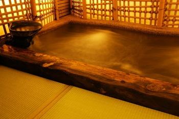 貸切温泉は何度でも無料で利用可能。